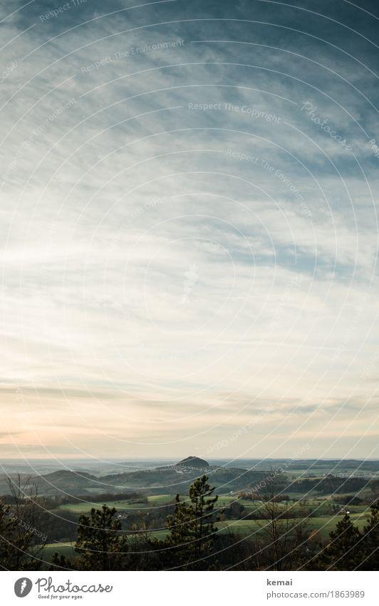 Wahrzeichen Himmel Natur Ferien & Urlaub & Reisen Landschaft Baum Erholung Wolken ruhig Ferne Wald Berge u. Gebirge Wärme Umwelt Herbst Freiheit Ausflug