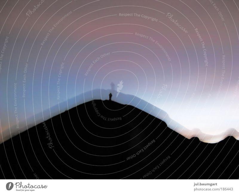 Vulkanbesteigung bei Nacht Natur Himmel Sommer Ferien & Urlaub & Reisen Ferne Berge u. Gebirge Landschaft Stimmung wandern Lifestyle Abenteuer Freizeit & Hobby