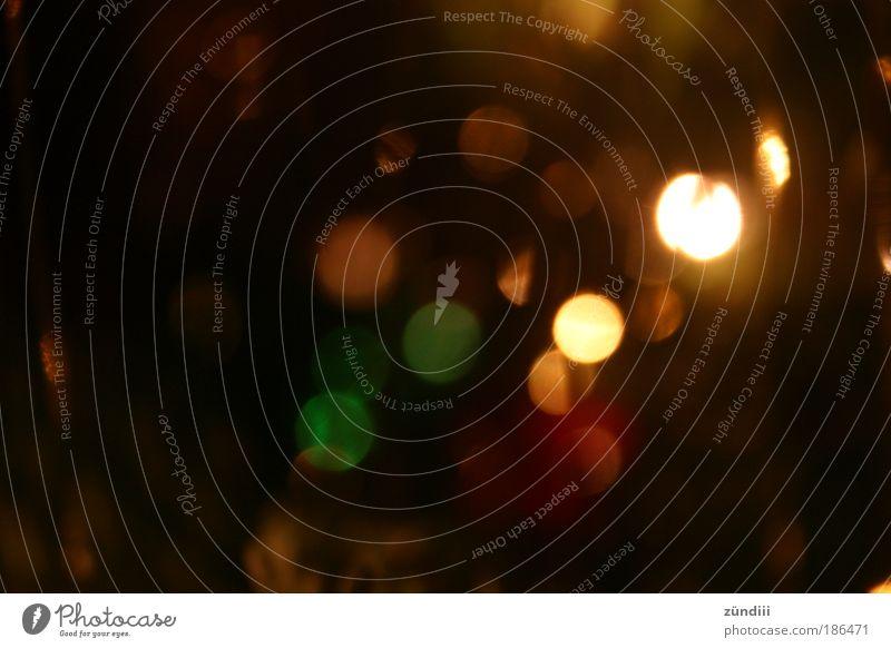 Lichterspiel grün rot schwarz Wärme Glück Feste & Feiern braun Stimmung glänzend leuchten Dekoration & Verzierung gold Warmherzigkeit erleuchten Vorfreude
