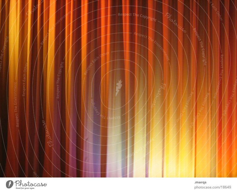 Vorhang auf! blau weiß rot Freude ruhig Erholung Ferne dunkel Gefühle Beleuchtung Stimmung orange Tanzen gold geschlossen groß