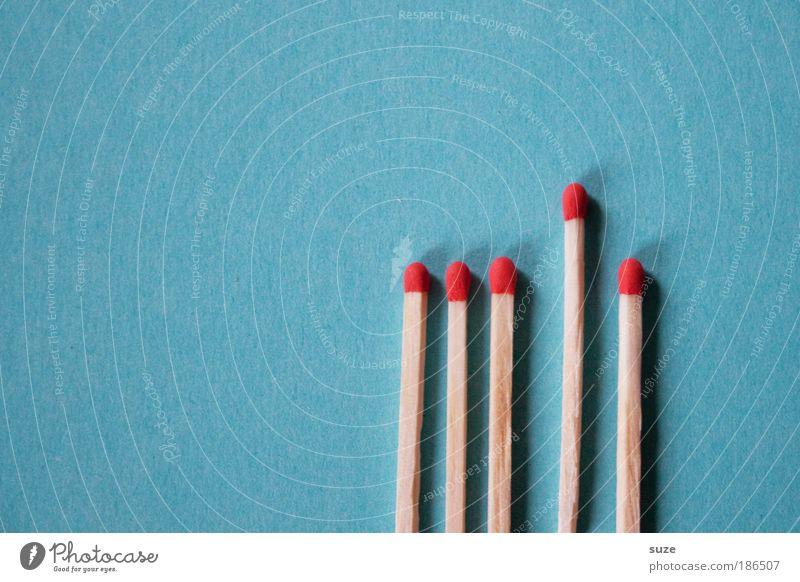 Brandenburg blau rot Spielen Holz Dinge einfach Schutz Brandschutz Streichholz Erschöpfung Basteln Rätsel Feuerwehr Desaster Symbole & Metaphern