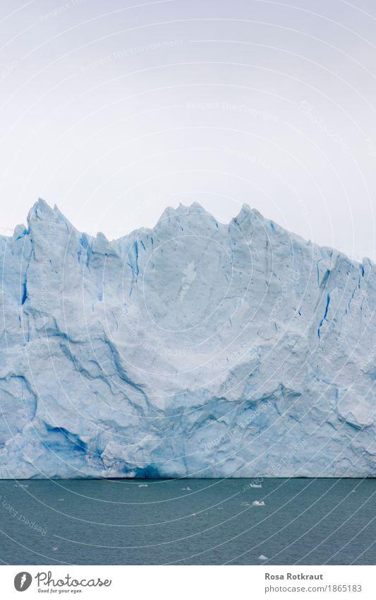 Im ewigen Eis Himmel Natur alt blau Wasser weiß Landschaft Winter Berge u. Gebirge kalt natürlich Schnee wild Eis wandern ästhetisch