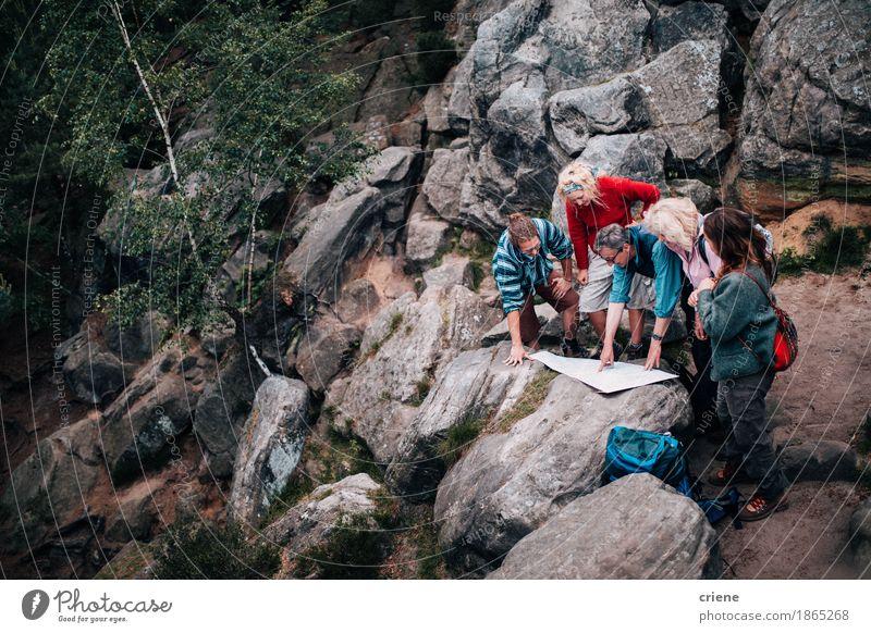 Frau Ferien & Urlaub & Reisen Jugendliche Mann Freude Wald 18-30 Jahre Berge u. Gebirge Erwachsene Leben sprechen Senior Wege & Pfade Lifestyle Sport