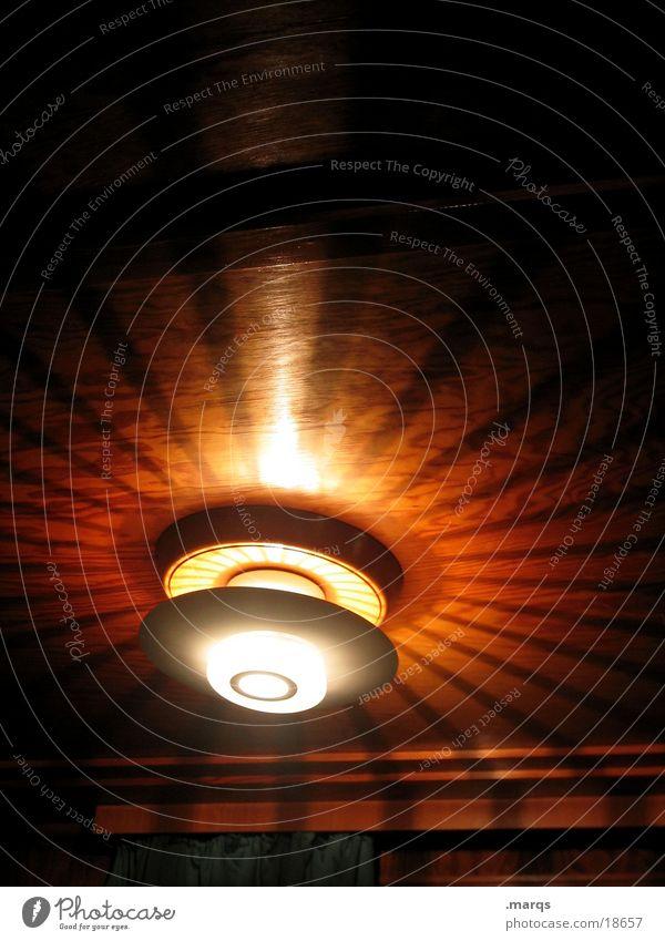 Strahlemann und Söhne Lampe Beleuchtung rund Decke schimmern Fototechnik