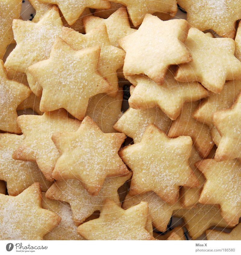 Weihnachten & Advent klein Feste & Feiern Lebensmittel Dekoration & Verzierung Ernährung Stern (Symbol) viele lecker gut Süßwaren Duft Dessert Vorfreude eckig Backwaren