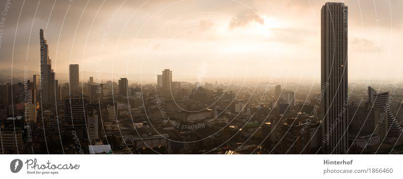 Bogotá - Kolumbien. Panoramablick. Ferien & Urlaub & Reisen Stadt Ferne Umwelt Architektur Hintergrundbild Lifestyle Gebäude Business Tourismus Horizont Büro
