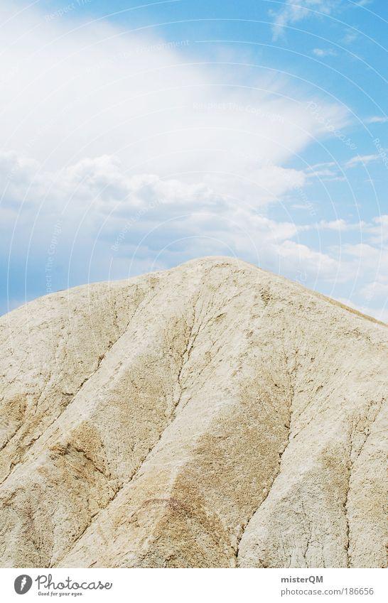 Vulcano. Natur Wolken oben Berge u. Gebirge Freiheit Landschaft Zufriedenheit Zeit Erde Hoffnung ästhetisch Zukunft USA Aussicht Reisefotografie Ziel