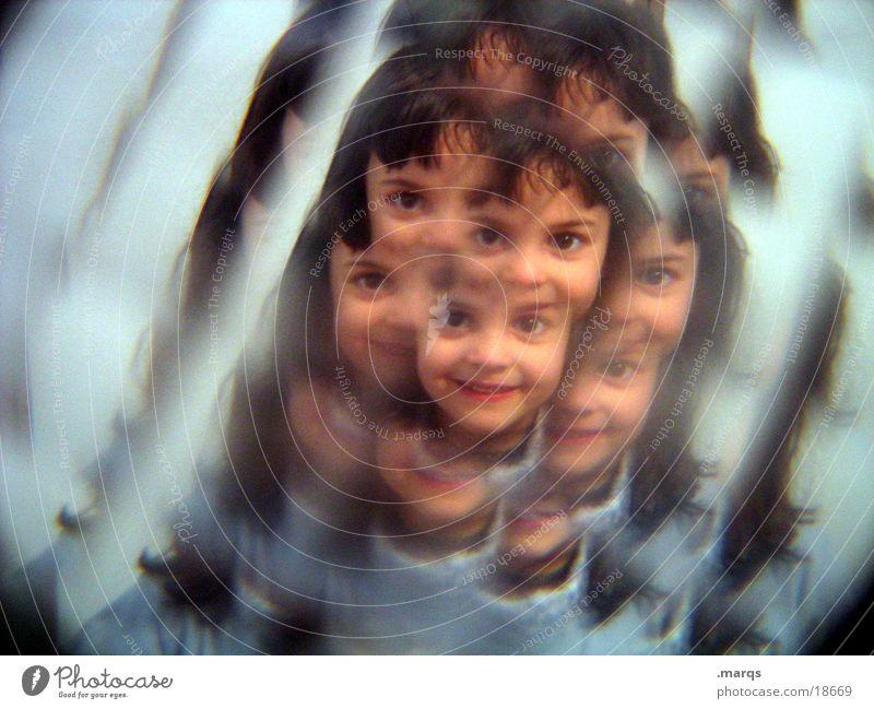 Johanna@pc Kind Mädchen Gesicht Bruch Fototechnik Kaleidoskop häufig