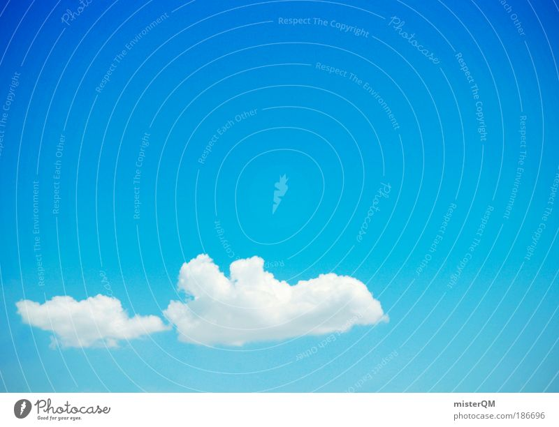Flying Away. Natur Sommer Ferien & Urlaub & Reisen Wolken Ferne träumen abstrakt Flugzeug Strukturen & Formen Ausflug ästhetisch Luftverkehr Abenteuer Tourismus