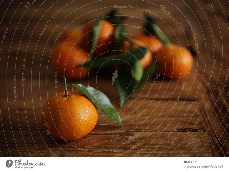 Vitamine für den Winter Lebensmittel Frucht Ernährung lecker Mandarine Zitrusfrüchte fruchtig orange frisch vitaminreich Gesunde Ernährung Gesundheit