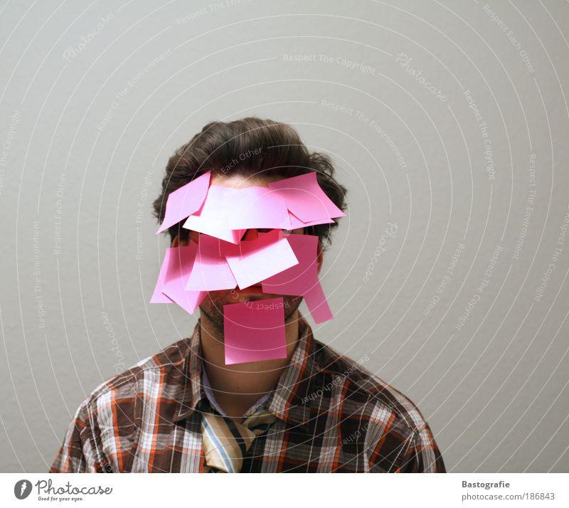comments? - post it! Mensch Mann Jugendliche Kultur Porträt Arbeit & Erwerbstätigkeit Gefühle Stil Haare & Frisuren Stimmung Erwachsene rosa maskulin