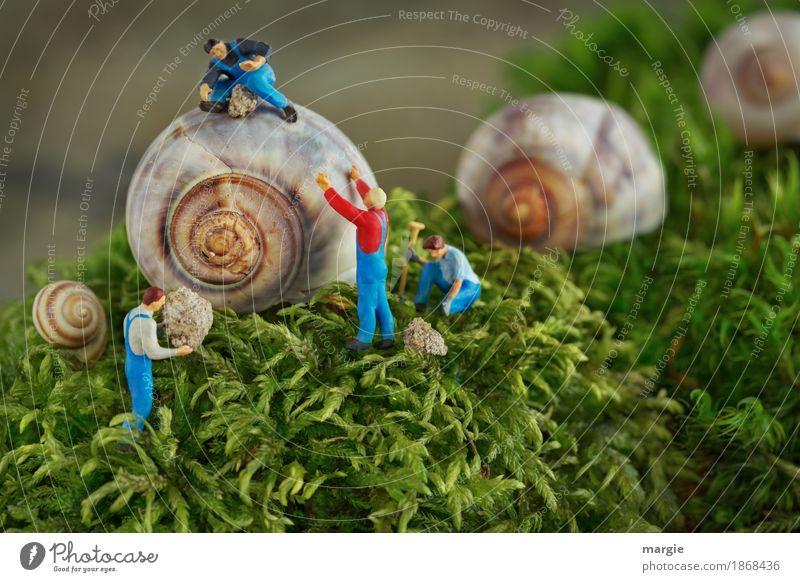 600 Miniwelten - Haussanierung Modellbau Häusliches Leben Hausbau Renovieren Beruf Gartenarbeit Arbeitsplatz Baustelle Dienstleistungsgewerbe Handwerk Mensch