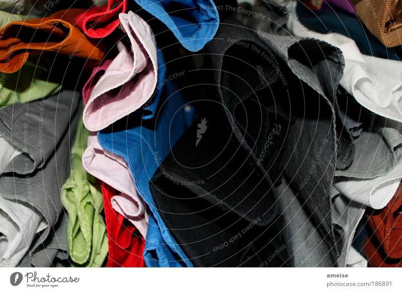 Bunt- vs. Schwarz-Weiß Wäsche Stil Design Schlafzimmer Bekleidung Arbeitsbekleidung Hemd Anzug Stoff Duft blau mehrfarbig grau grün rosa rot schwarz weiß