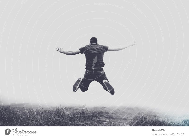 fliegen Teil 2 Mensch Natur Ferien & Urlaub & Reisen Jugendliche Mann Sommer Junger Mann Landschaft ruhig 18-30 Jahre Erwachsene Umwelt Leben Lifestyle Spielen