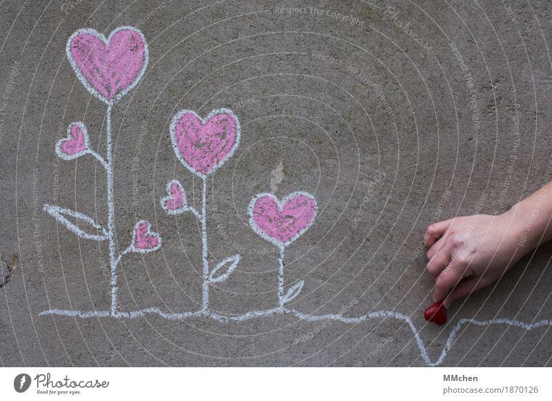 Lebensaufgabe Hand Freude Liebe Familie & Verwandtschaft Glück Zusammensein Freundschaft Zufriedenheit Wachstum Geburtstag Herz Warmherzigkeit Romantik Hochzeit