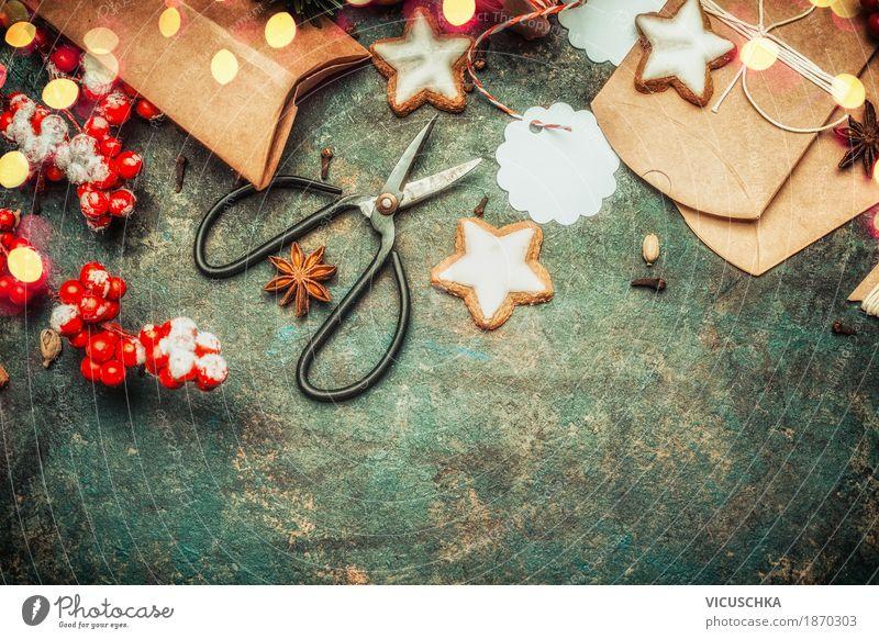 Weihnachtsgeschenke kreativ verpacken Süßwaren Stil Design Freude Winter Häusliches Leben Dekoration & Verzierung Tisch Feste & Feiern Weihnachten & Advent