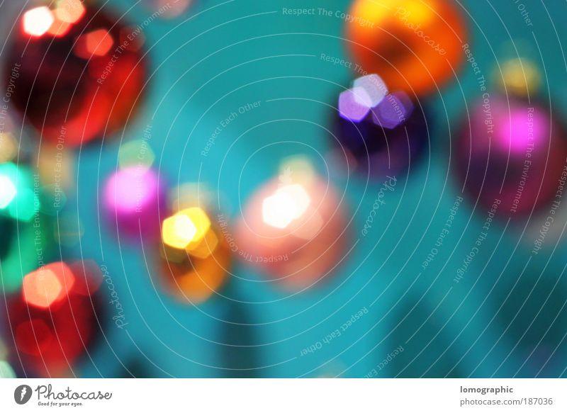 Kugelbunt I Weihnachten & Advent Stil Design verrückt Feste & Feiern Dekoration & Verzierung leuchten Christbaumkugel Weihnachtsdekoration Lomografie Glaskugel