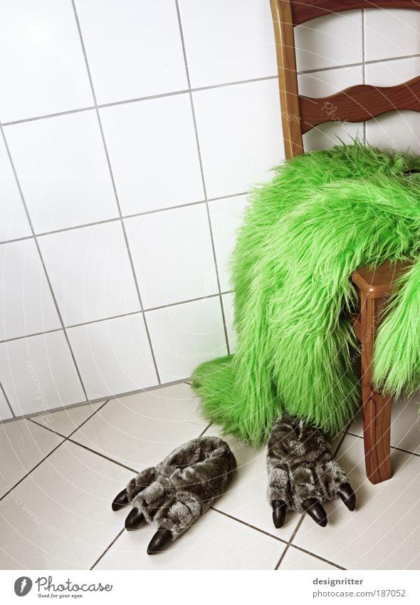 ausgemonstert Tier ruhig Spielen Haare & Frisuren Kindheit wild Behaarung Schuhe Mensch Fröhlichkeit Fell Karneval gruselig Zoo Wut schreien