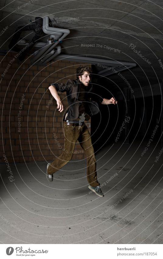 Baustell Fashion Lifestyle Stil Freude Freizeit & Hobby Mensch maskulin Junger Mann Jugendliche Erwachsene Leben Haare & Frisuren Hand 1 18-30 Jahre Tanzen
