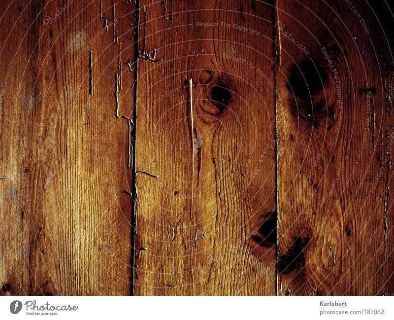 holzweg. Natur ruhig Wand Muster Holz Mauer Wärme Linie Wohnung Design Umwelt Fassade Lifestyle Boden rein Häusliches Leben