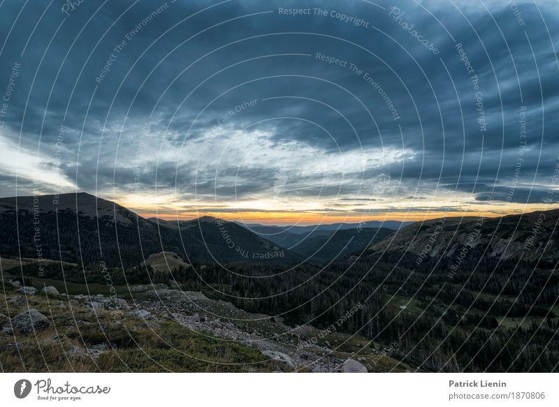 Silent Awareness schön Ferien & Urlaub & Reisen Abenteuer Berge u. Gebirge wandern Umwelt Natur Landschaft Urelemente Himmel Wolken Klima Klimawandel Wetter