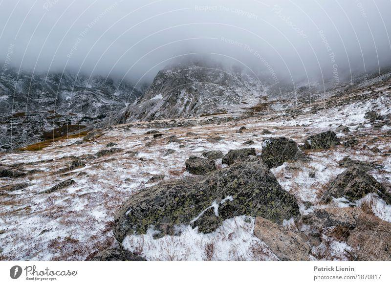 Pawnee Pass Trail schön Ferien & Urlaub & Reisen Abenteuer Freiheit Winter Schnee Berge u. Gebirge wandern Umwelt Natur Landschaft Himmel Wolken Klima
