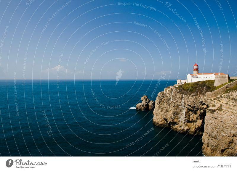 Postkartenblick Natur Wasser schön Himmel Sonne Meer blau Sommer Ferien & Urlaub & Reisen Ferne Erholung Freiheit Landschaft Umwelt Ausflug Tourismus
