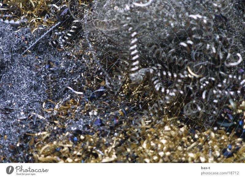 Goldspäne Industrie Metallspäne silber gold Verschnitt Span Späne