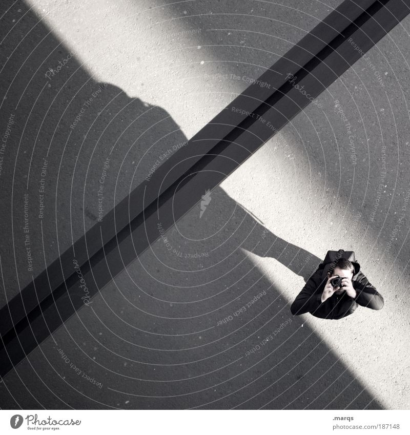 x Stadt Freude Arbeit & Erwerbstätigkeit Gebäude Linie maskulin Fassade Ausflug Lifestyle Vogelperspektive einfach Freizeit & Hobby Fotokamera Beruf einzigartig