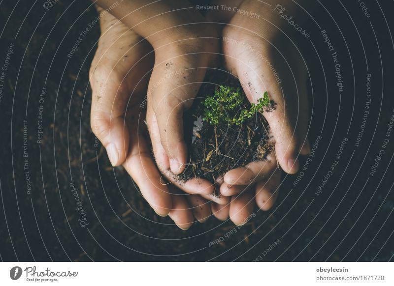 rette die Welt, selektiven Fokus Natur Lifestyle Stil Garten Erde Abenteuer