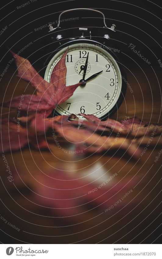 .. uhr gedreht, ist es wirklich schon .. Uhr Wecker Zeit Klingel wecken schlafen verschlafen aufstehen uhr stellen weckruf Ziffern & Zahlen Zifferblatt