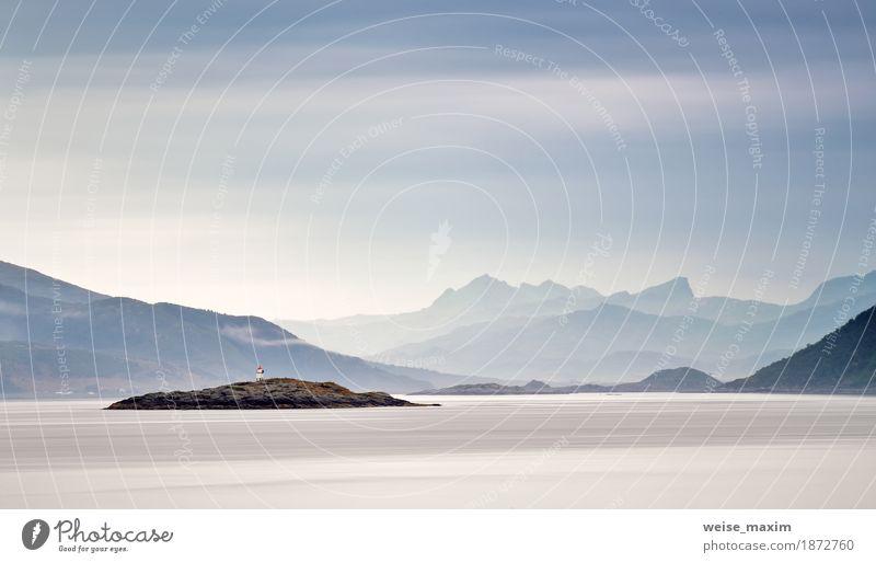 Himmel Natur Ferien & Urlaub & Reisen Sommer schön Wasser Meer Landschaft Wolken Ferne Strand Berge u. Gebirge Lifestyle natürlich Küste Stein