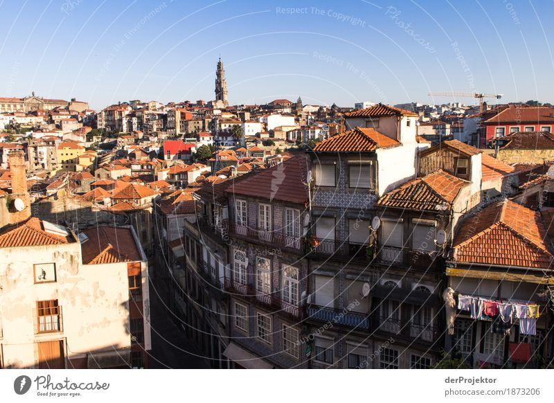 Guten Morgen Porto Ferien & Urlaub & Reisen alt Haus Freude Berge u. Gebirge Reisefotografie Tourismus Ausflug ästhetisch Kirche Lebensfreude Dach