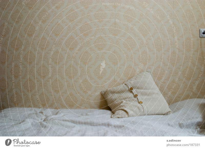 Drei Tasten Stil Design Wohnung Bett Tapete Dekoration & Verzierung Ornament Denken Fernsehen schauen genießen Lächeln einfach Freundlichkeit Freude