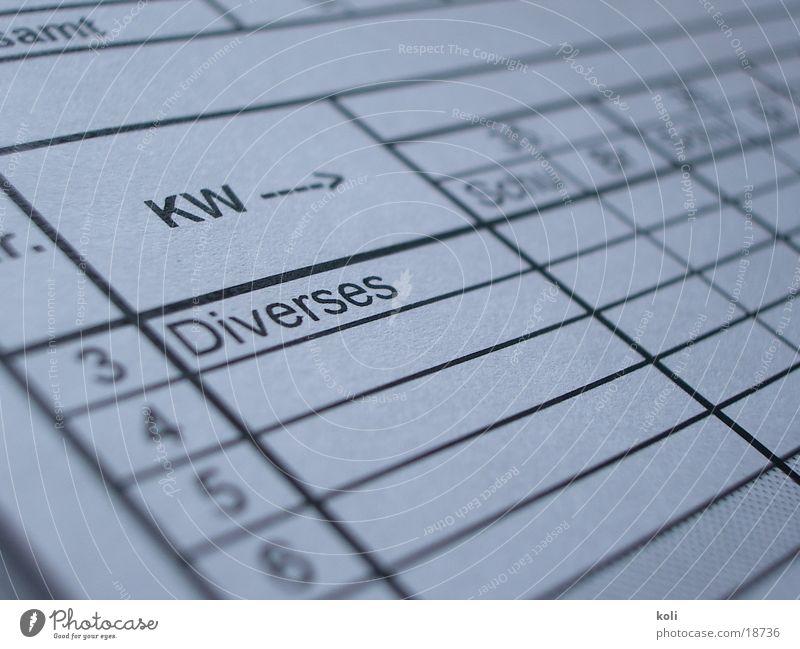 plan-übererfüllung Arbeit & Erwerbstätigkeit planen Papier Anordnung