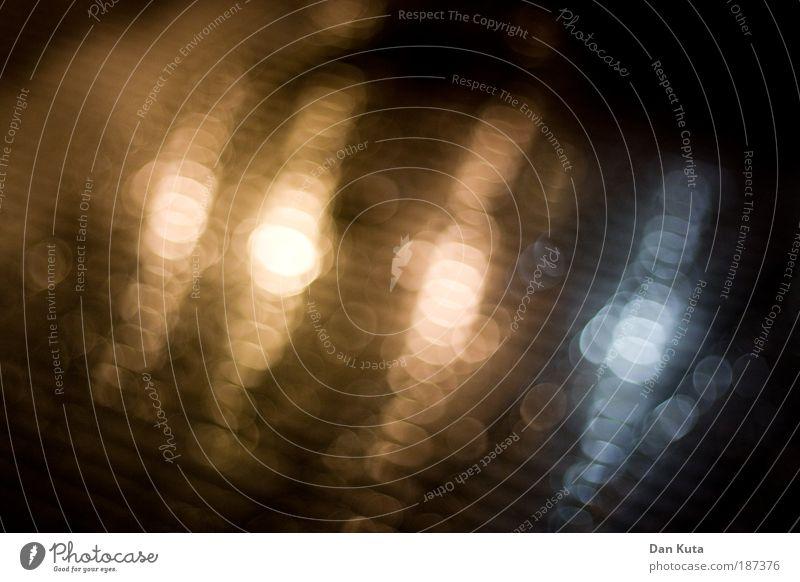 Glanzvoll Wasser Winter glänzend Wassertropfen Kreis weich fest Gelassenheit Ring Unschärfe festlich Glanzlicht Atmosphäre Bodenbelag Bildbearbeitung