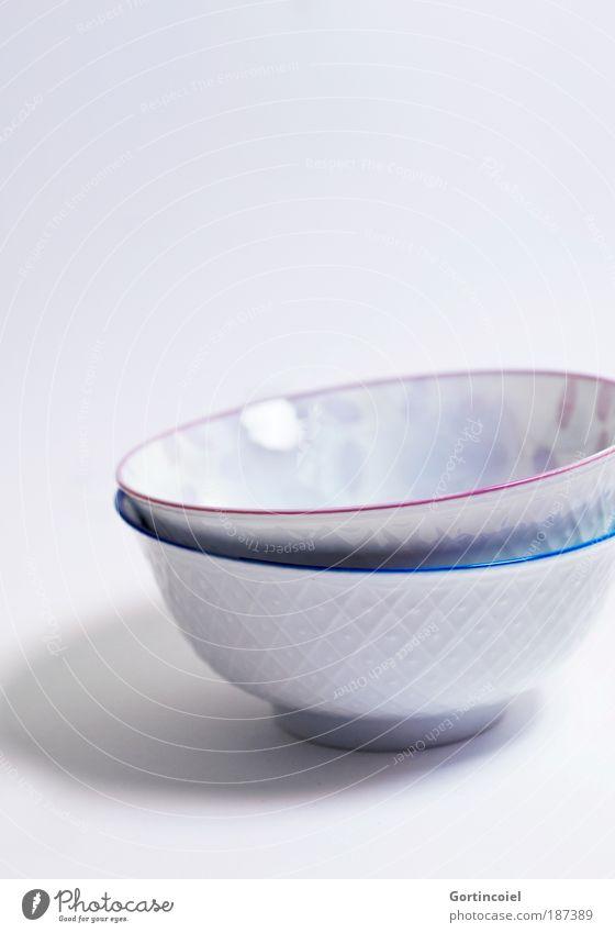 Cup Cup blau schön weiß kalt Stil Lifestyle Kunst Lebensmittel Linie hell rosa Design Ernährung Ecke Küche Asien