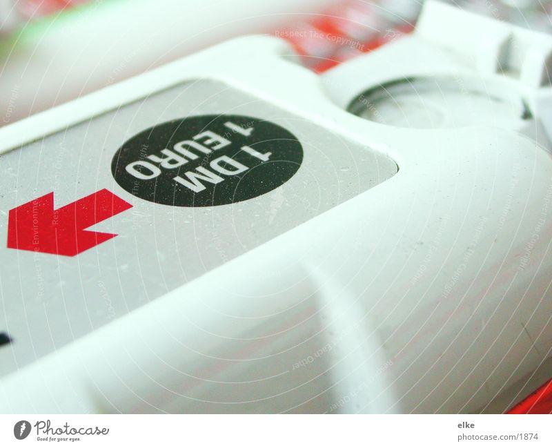 1euro = 1dm ! Dienstleistungsgewerbe Euro Einkaufswagen Preisschild