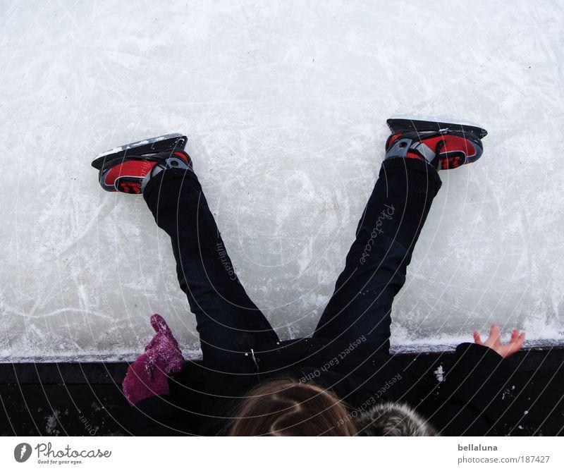 kleine Pause Freude Glück Freiheit Mensch Kind Mädchen Kindheit Leben Arme Hand Finger Beine Fuß 1 3-8 Jahre Spielen Sport Lebensfreude Vorfreude Begeisterung