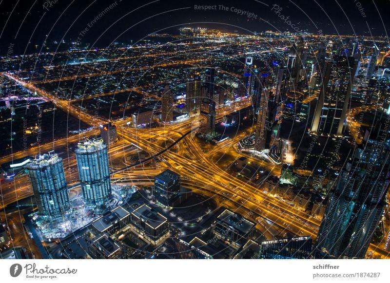 Ant-City | Der letzte macht das Licht aus Stadt Hauptstadt Stadtzentrum Skyline überbevölkert Haus Hochhaus Bankgebäude Bauwerk Gebäude Verkehr Verkehrswege