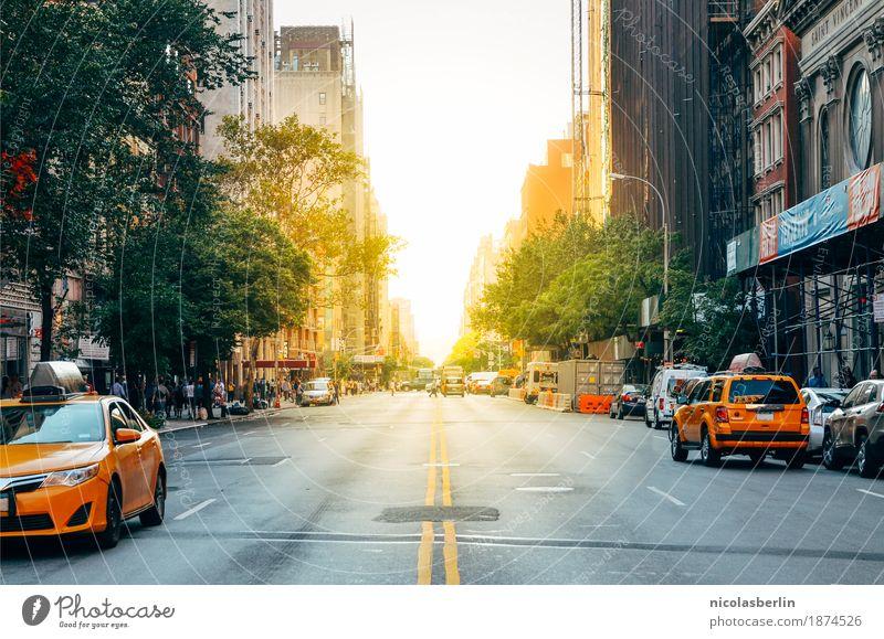 NYC (6) - 90 Minuten Stadt Sonne Haus Ferne Straße Lifestyle Freiheit Tourismus Horizont Verkehr PKW Ausflug Abenteuer fahren Skyline Fernweh