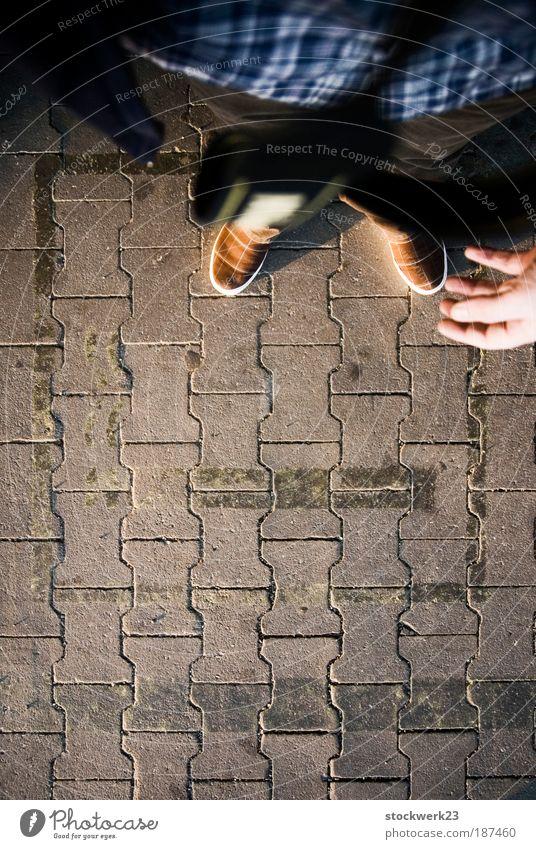 nichtraucherzone Mensch Hand Erwachsene Beine Fuß maskulin Mut Lebensfreude Verbote Optimismus Laster