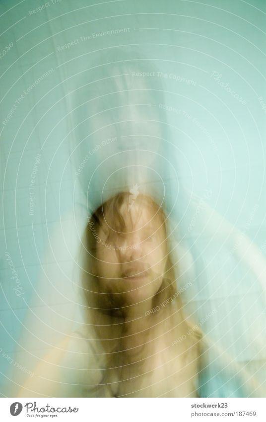 double happiness Mensch Jugendliche schön Erwachsene Gesicht Haare & Frisuren Kopf Junge Frau natürlich Haut nass 18-30 Jahre authentisch Warmherzigkeit dünn