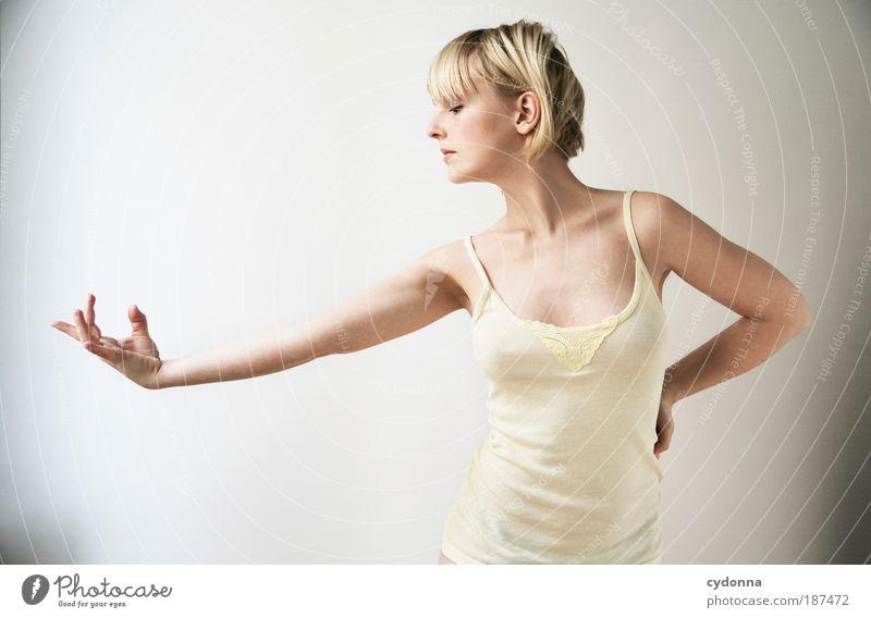 Nothing Frau Mensch Jugendliche schön ruhig Erotik Sport Leben Gefühle Stil Bewegung Kraft Gesundheit Körper Haut Erwachsene