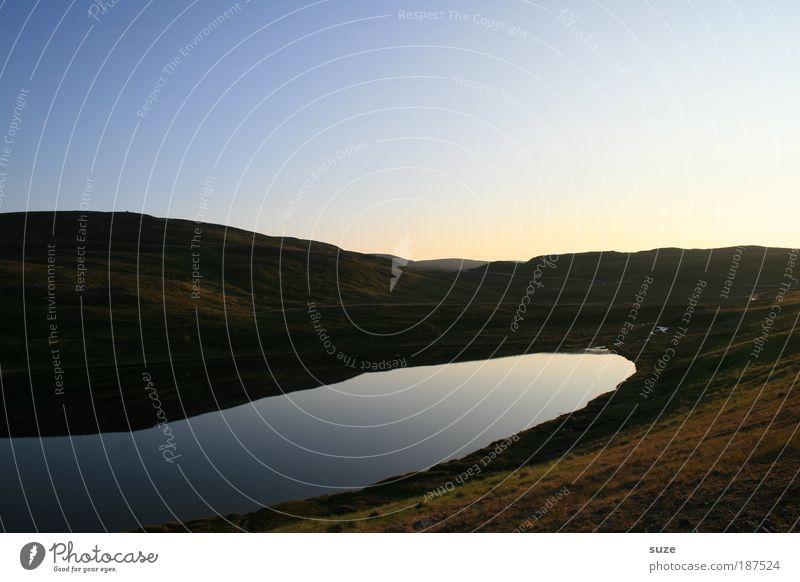 Still ruht der See Natur Pflanze Ferien & Urlaub & Reisen ruhig Einsamkeit Ferne kalt Freiheit Landschaft Umwelt Denken Erde Ausflug Tourismus frisch