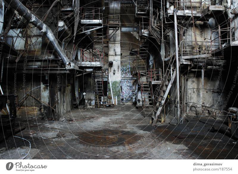 Architektur Technik & Technologie Fabrik Stress Industrieanlage Endzeitstimmung