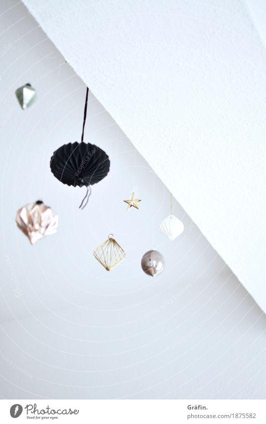 Es weihnachtet sehr...minimalistisch Dekoration & Verzierung Weihnachten & Advent Kitsch Krimskrams trendy einzigartig weiß Kreativität Nostalgie Ordnung