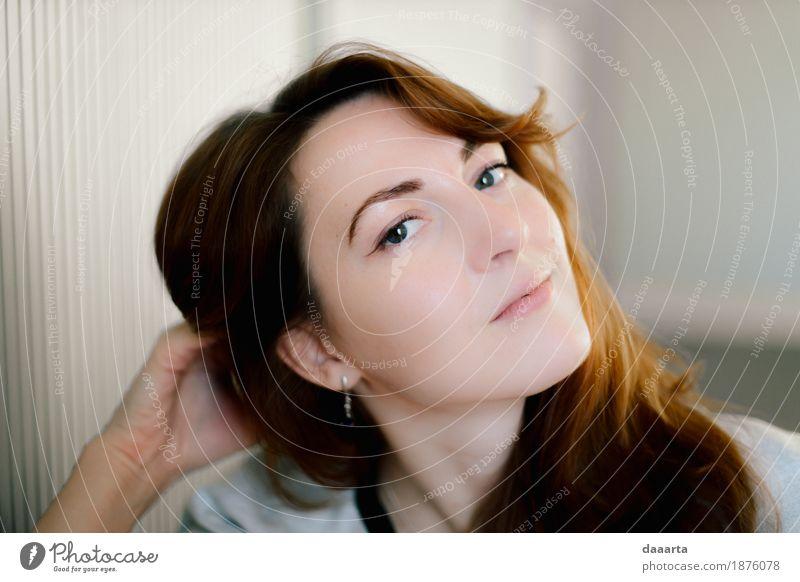 Anna die fabelhafte Jugendliche schön Junge Frau Freude Wärme Leben Lifestyle feminin Stil Freiheit Stimmung Design wild Freizeit & Hobby elegant Lächeln