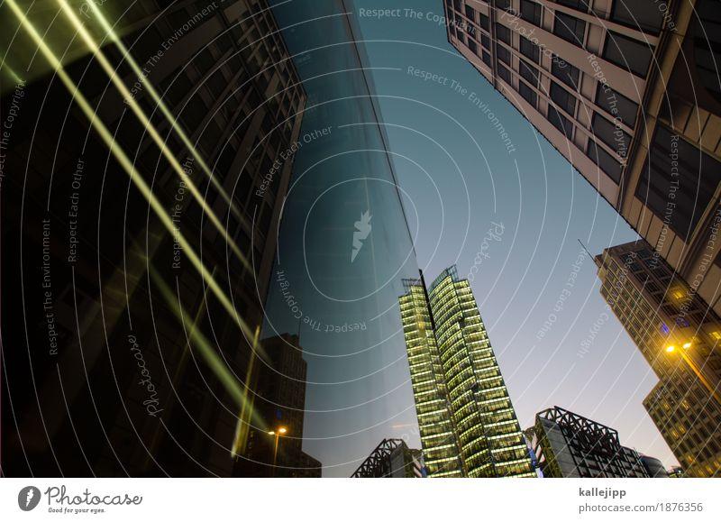 skyscrapers i love you Stadt Hauptstadt Stadtzentrum bevölkert Haus Hochhaus Platz Bauwerk Gebäude Architektur Fassade Zukunft Potsdamer Platz Berlin
