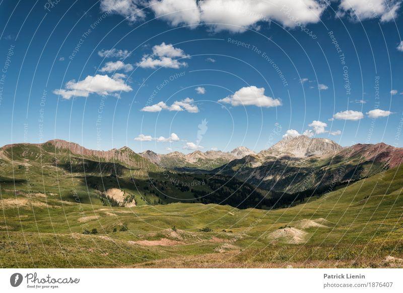Wolken ziehen vorbei schön Ferien & Urlaub & Reisen Abenteuer Sommer Berge u. Gebirge wandern Umwelt Natur Landschaft Himmel Baum Blume Gras Wiese Wald Felsen